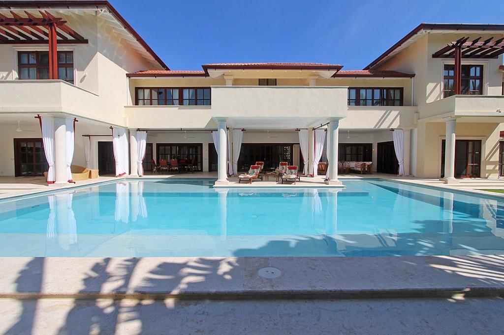 Pool area of private villa in Sea Horse Ranch