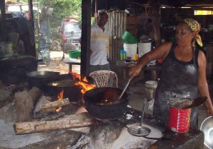 Eating as a local in Cabarete