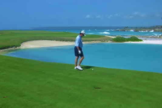 Oceanfront Golf Course