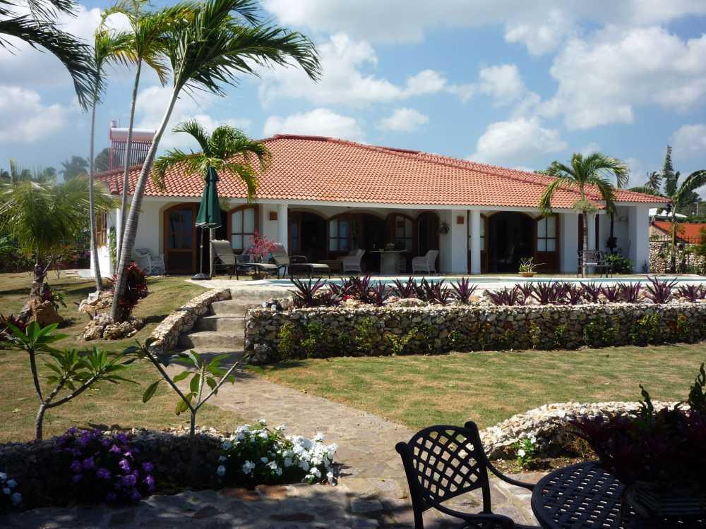 Dominican Republic Real Estate Cabrera Ocean View Villa