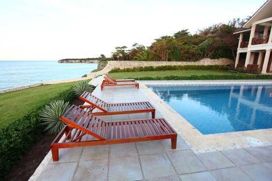 Caribbean Oceanfront Villa, Rio San Juan, Dom. Rep.