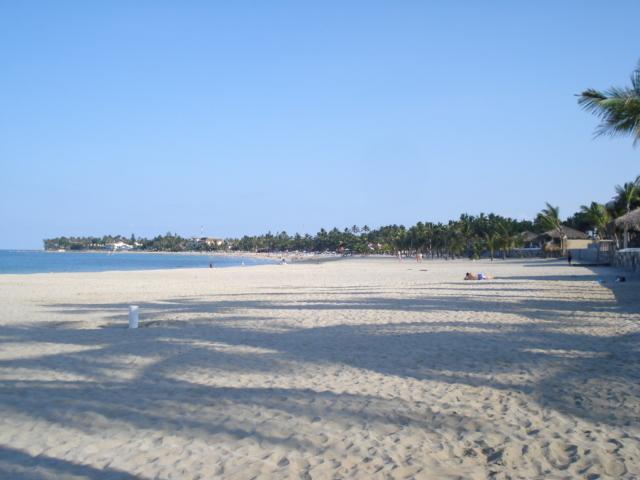 Enjoy walking at Cabarete beach