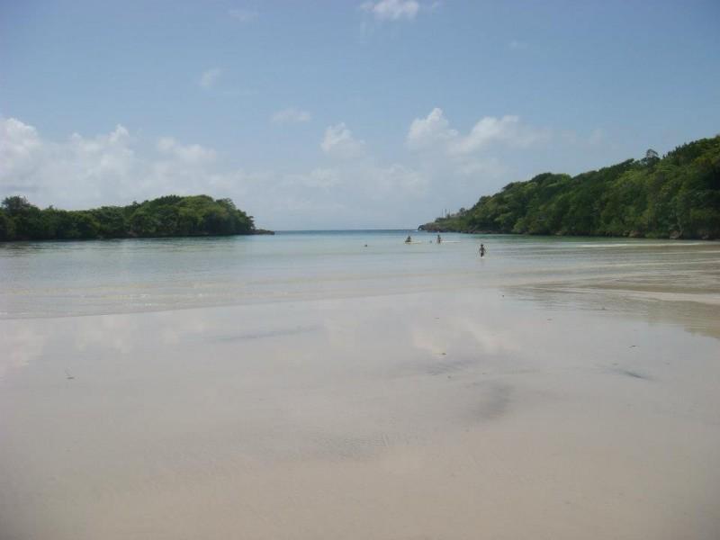 Playa Diamante Near Cabrera Dominican Republic
