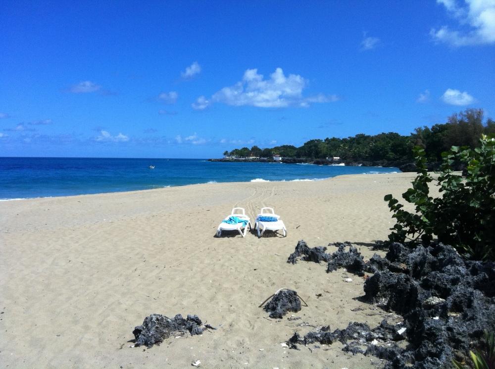 Sosua - Generals beach in front of Hispaniola Beach