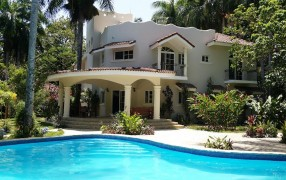 Large home with pool for sale near Cabarete