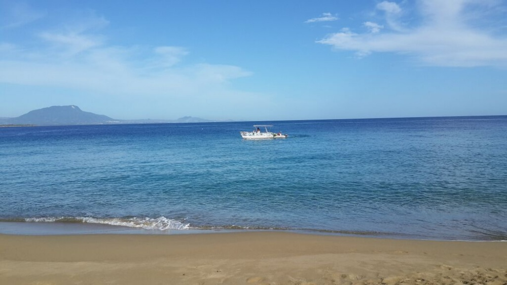 Sosua Beach with view to Puerto Plata
