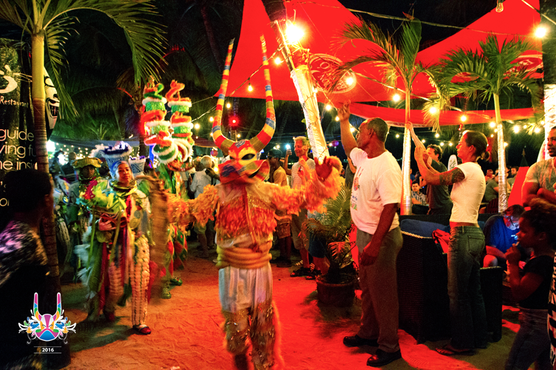 Carnival - Cabarete at night