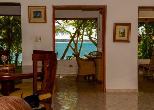 Beach Hotel on Cabarete Bay, Dominican Republic