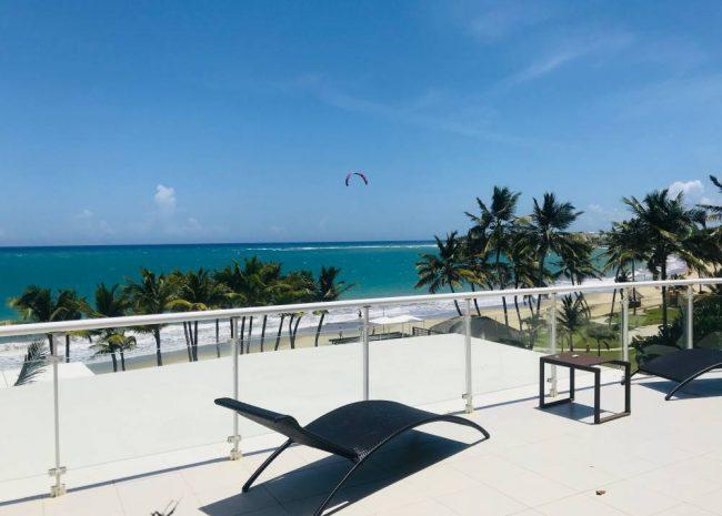 Beachfront Penthouse Cabarete, Dominican Republic