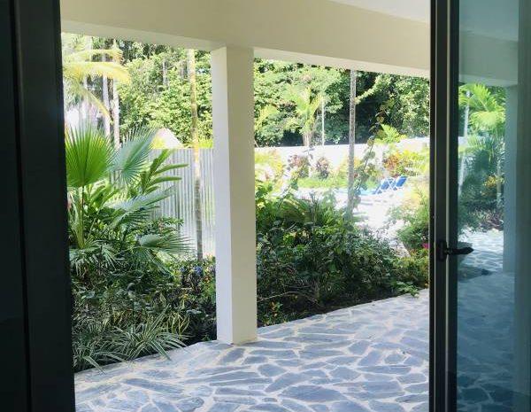 Modern condominiums, Cabarete, Dominican Republic